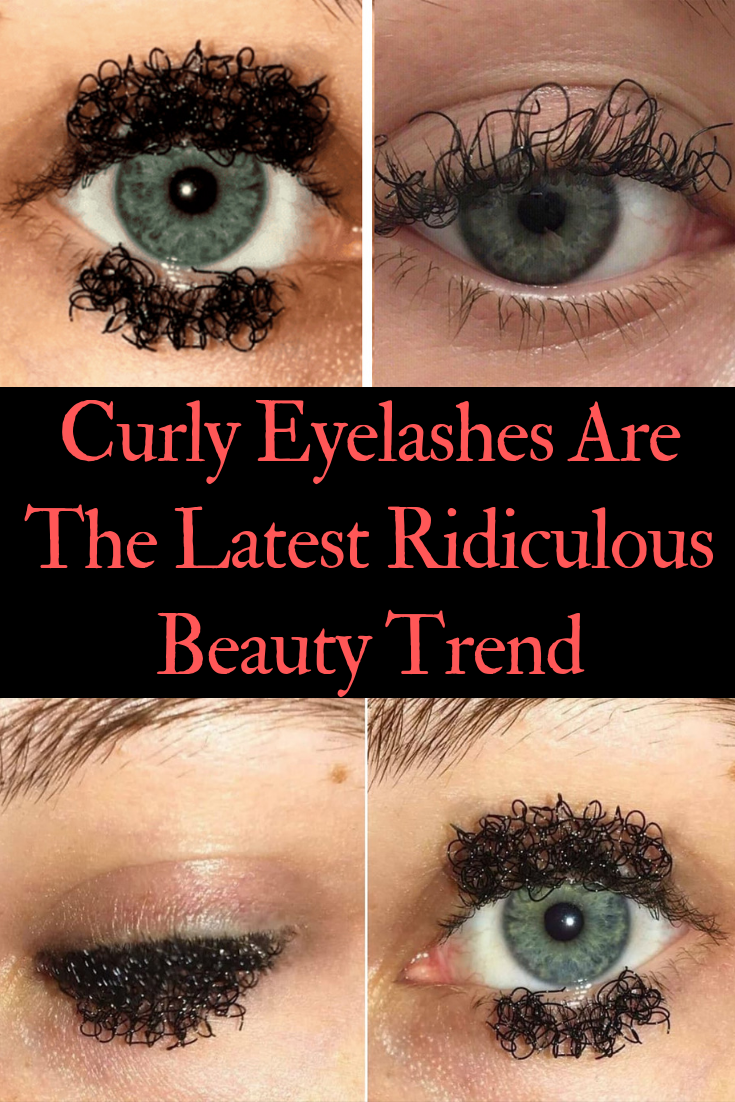79bc7de9af8 Curly Eyelashes Are The Latest Ridiculous Beauty Trend | Fashion ...