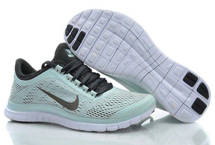 promo code 8a5b6 169b6 Womens Nike Free 3.0 V5 Fiberglass Blackened Blue White Shoes