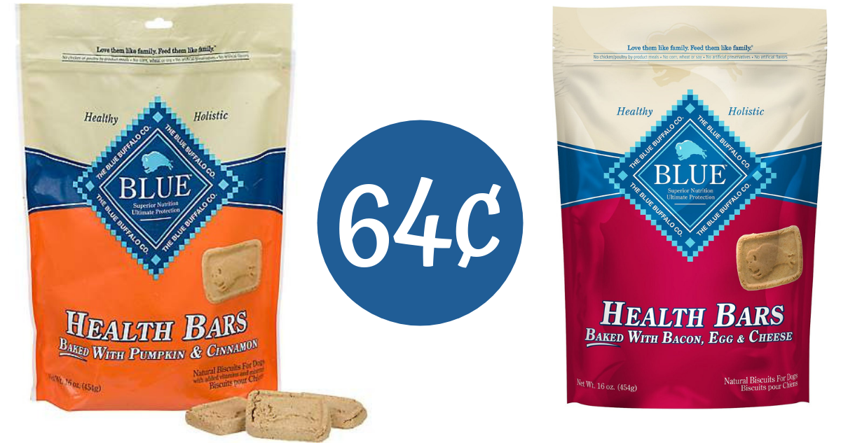 graphic relating to Blue Buffalo Coupon Printable identified as blue buffalo coupon produces canine snacks 64¢ :: southern