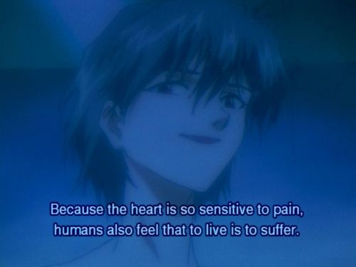 Image result for kaworu quote evangelion