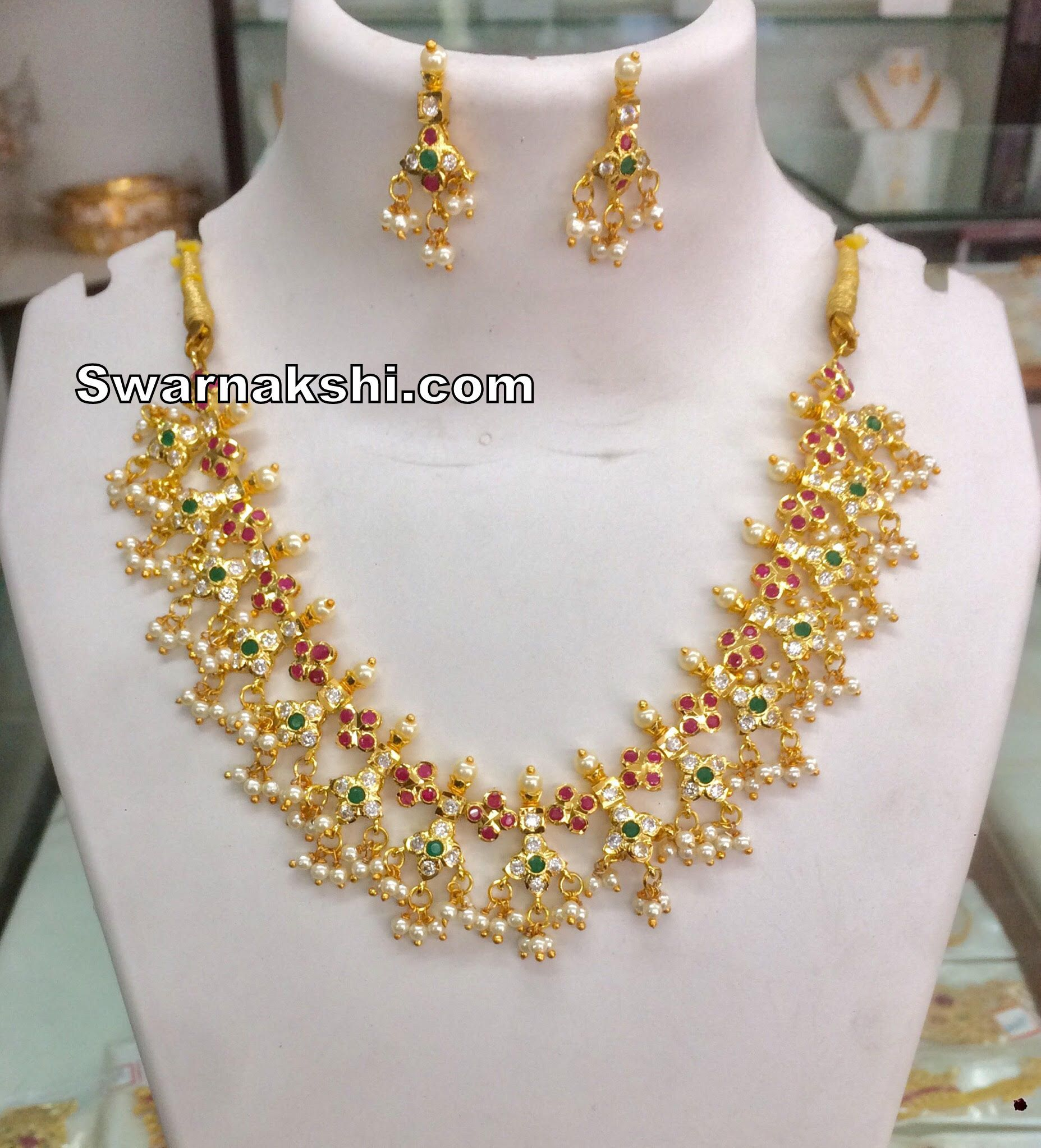 bd9c9b4846 1 gram gold necklace oval model collection | Jewllery | Jewelry, Gold  wedding jewelry, Gold jewelry