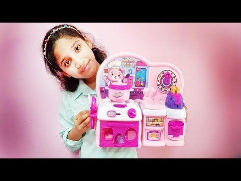 Kids Toys Kitchen Set Videos For Kids Indoor Playground Activities