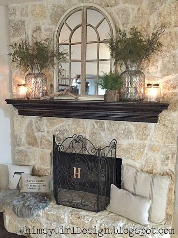 Stunning Living Room Decorating Ideas 26 Fireplace Mantle Decor Fireplace Mantel Decor Home