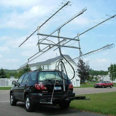 Anntenas on car | Ham Radio | Ham radio antenna, Ham radio equipment