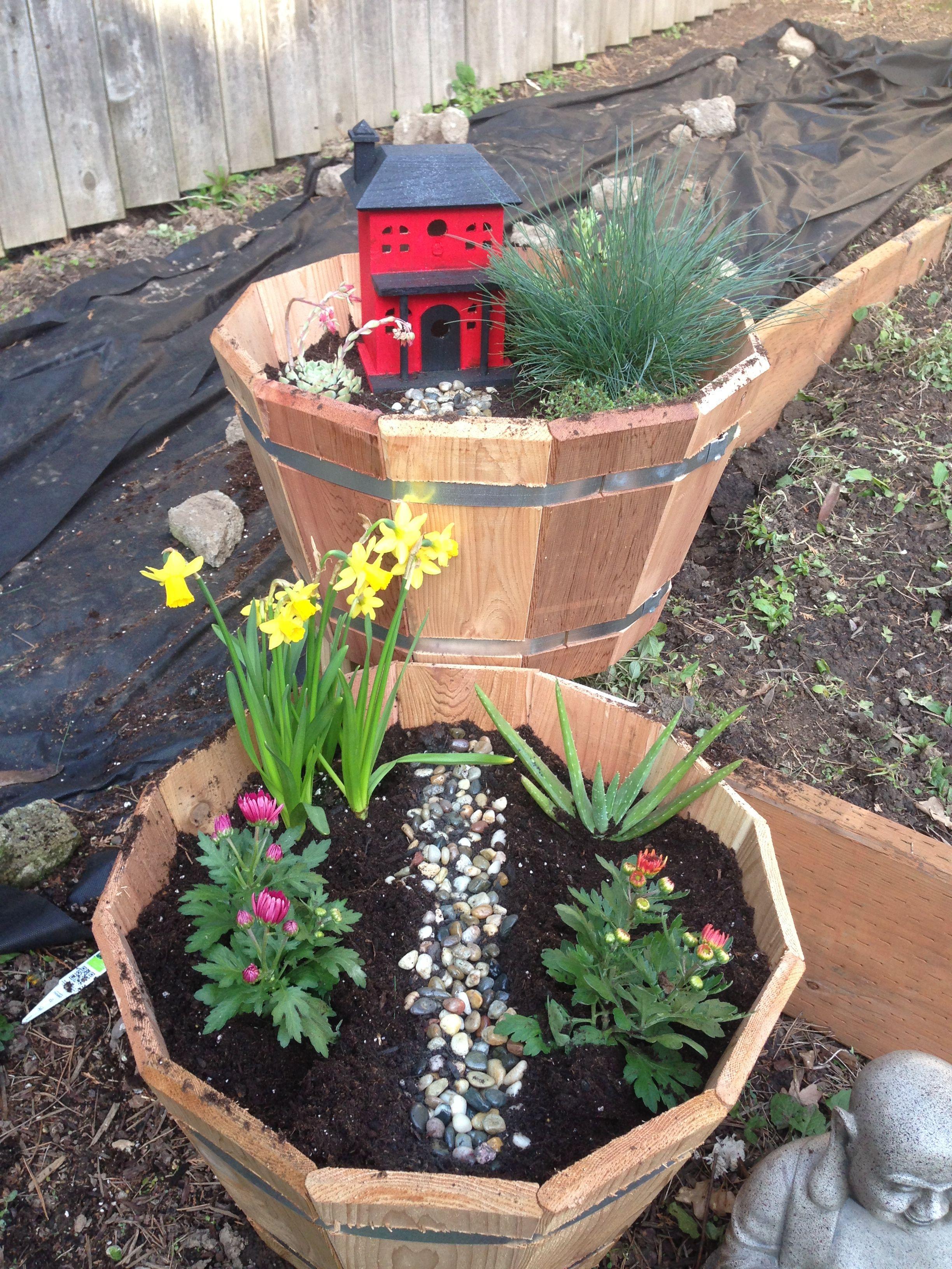 Very Simple And Easy To Make Faery Garden Fairy Garden 640 x 480