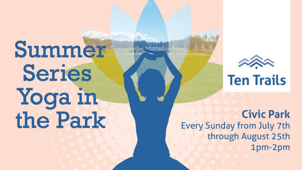 Join Us For Yoga In The Park Ten Trails At Black Diamond Yoga Ten Park