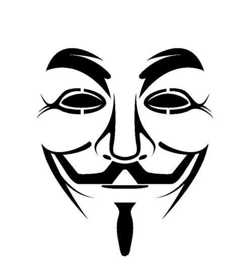V For Vendetta Mask Stencil Bildergebnis für ...