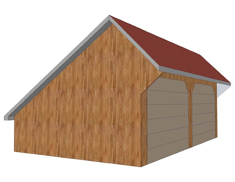 Best Salt Box Roof A Low Sloping Roof Line At The Back Of The 400 x 300