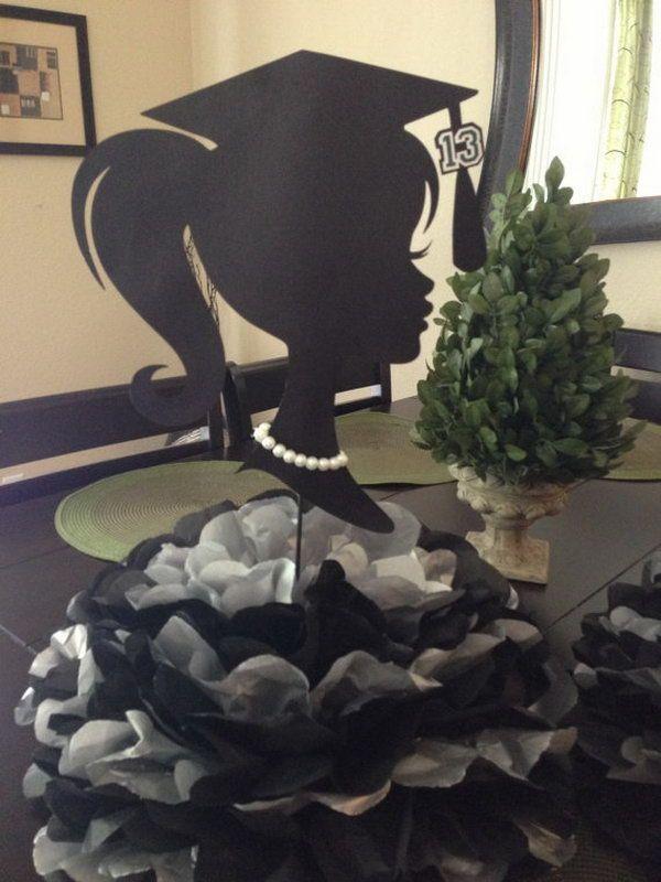 25 Diy Graduation Party Decoration Ideas Hative Dekorationen Fur Abschlussfeiern Abschluss Diy Abschlussfeier