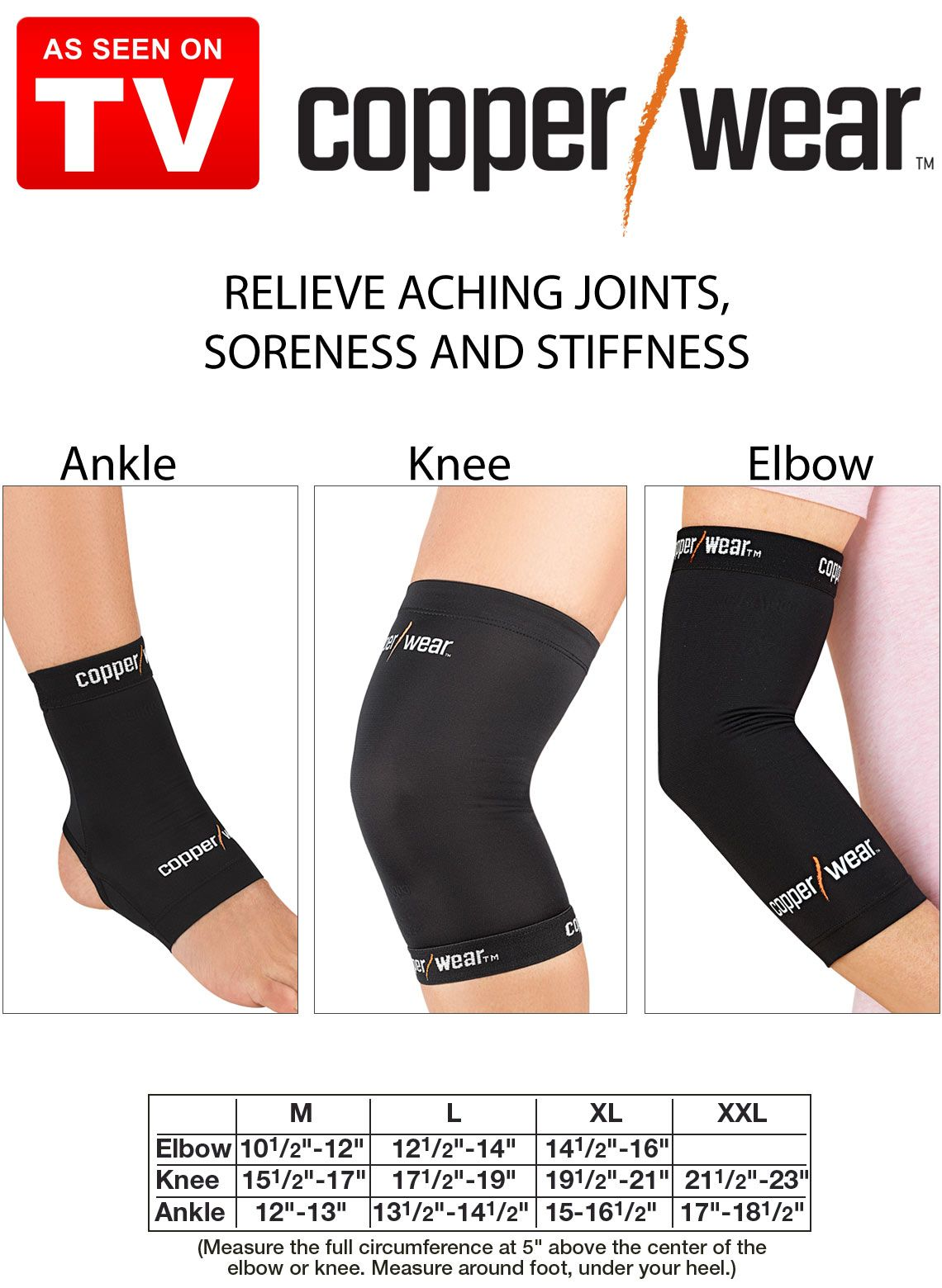 Copper Knee Brace As Seen On Tv