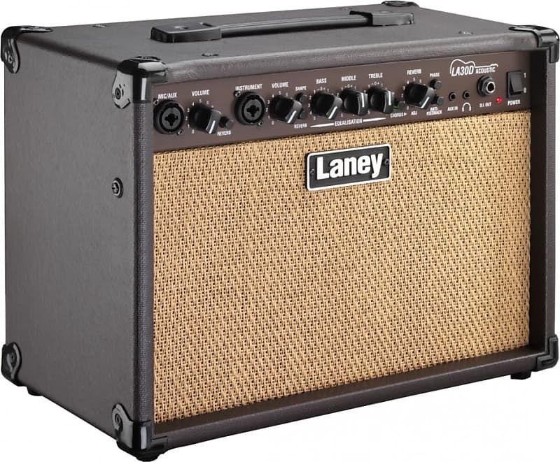 Laney La30d Acoustic Amp 30w Ultratone Guitars Reverb In 2020 Acoustic Guitar Amp Acoustic Acoustic Instrument