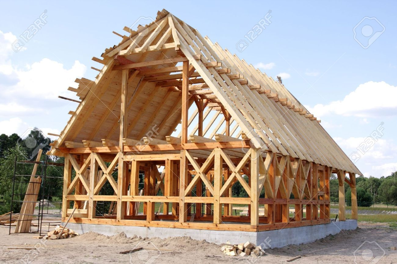 Wooden House Construction   Google Search