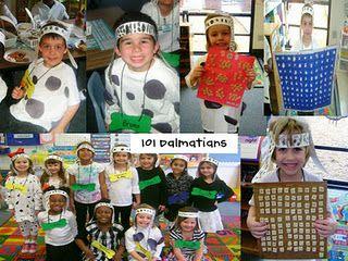 Cute 101 Days Of School Dalmatian Dog Spots T-shirt