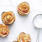 Schnelle Apfelrosen #apfelrosenblätterteig Dank Fertig-Blätterteig sind die Apfelrosen in nur 10 Mintuen zubereitet. Eine tolle Alternative für kla... - #apfelrosen #apfelrosenblatterteig #blatterteig #fertig #mintuen #schnelle - #new #blätterteigrosenmitapfel
