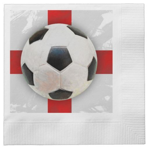 English Soccer Paper Napkin #England #Soccer #Sports #LunchBox My - Equipment Bill Of Sale