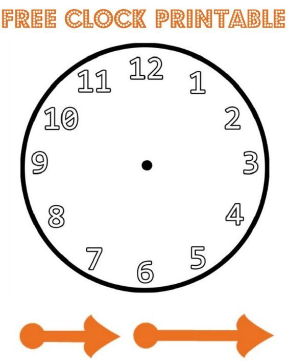 New Year Paper Plate Countdown Clock With Images Clock Printable Paper Clock Clock Face Printable