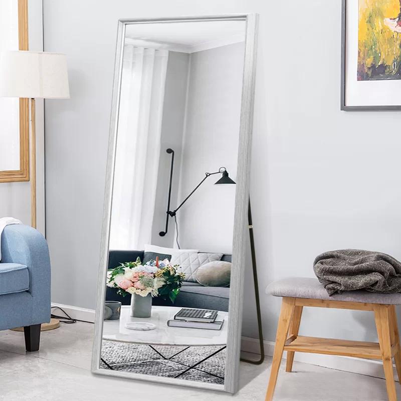 Latitude Run Mckail Modern And Contemporary Beveled Venetian Full Length Mirror Reviews Wayfair In 2020 Full Length Mirror Frames On Wall Decor #standing #mirror #in #living #room