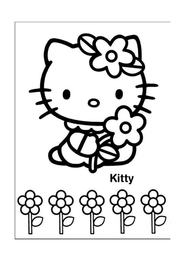 Ausmalbilder Hello Kitty 25 | Johannes | Pinterest | Hello kitty ...