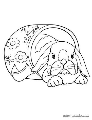 Beautiful Rabbit In A Cup Coloring Page Cute And Amazing Farm Animals Coloring Page For Kids Farm Animal Coloring Pages Animal Coloring Pages Coloring Pages