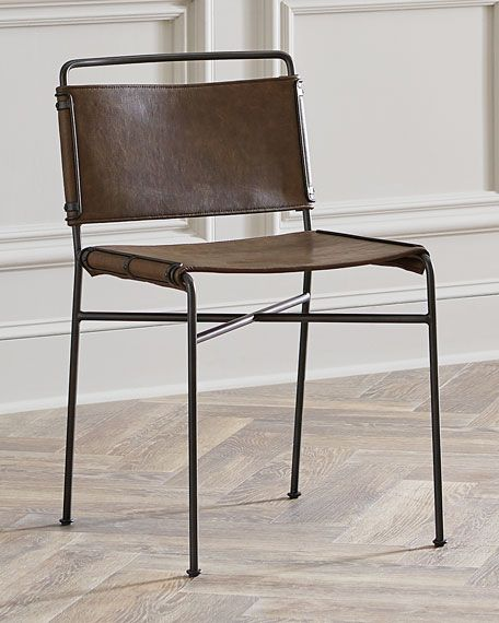 Nicholas Leather Dining Chair | Furniture Finds | Pinterest ...