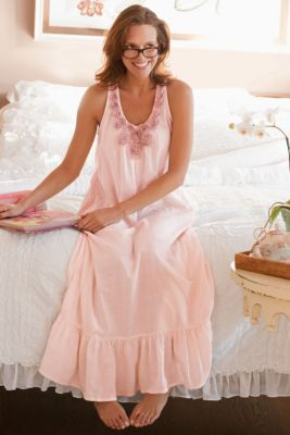 Rosa Gown - Cotton Nightgown 2c85ae37a