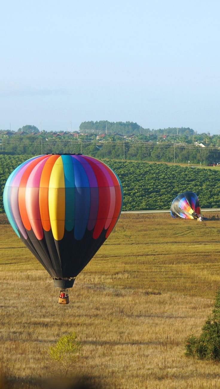 Hot Air Balloon Dream with Orlando Balloon Rides in Kissimmee Florida