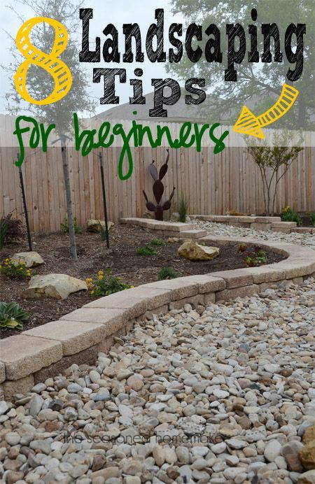 Spring Landscaping Tips how to landscape | landscaping, paradise and learning