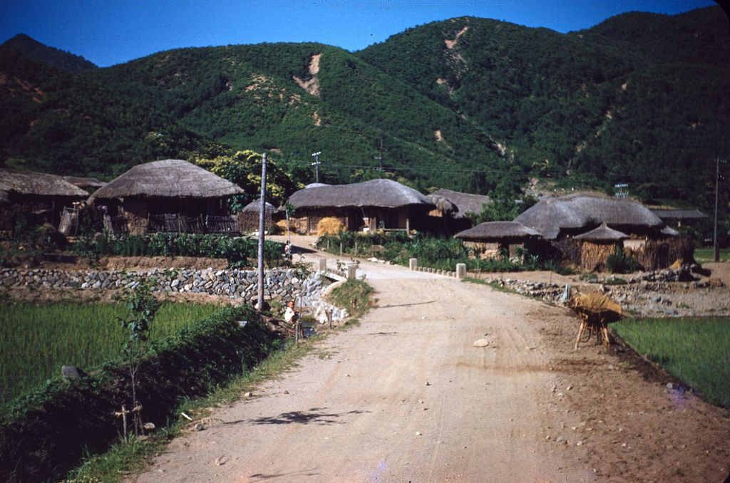모든 크기   Korean village scene   Flickr – 사진 공유!