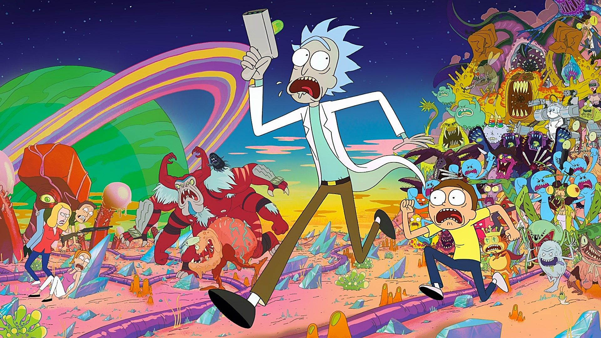 Rick And Morty Full Hd Pictures 1920x1080 Assistir Rick E Morty Rick And Morty Papel De Parede Pc