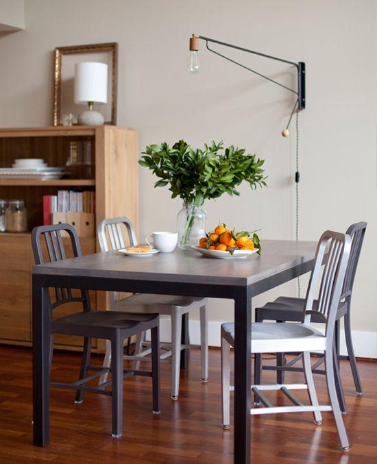 7 Creative Dining Room Lighting Ideas Small Apartment Dining