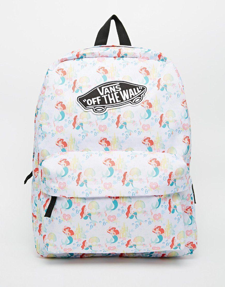 088682d9c09 Vans x Disney Little Mermaid Backpack