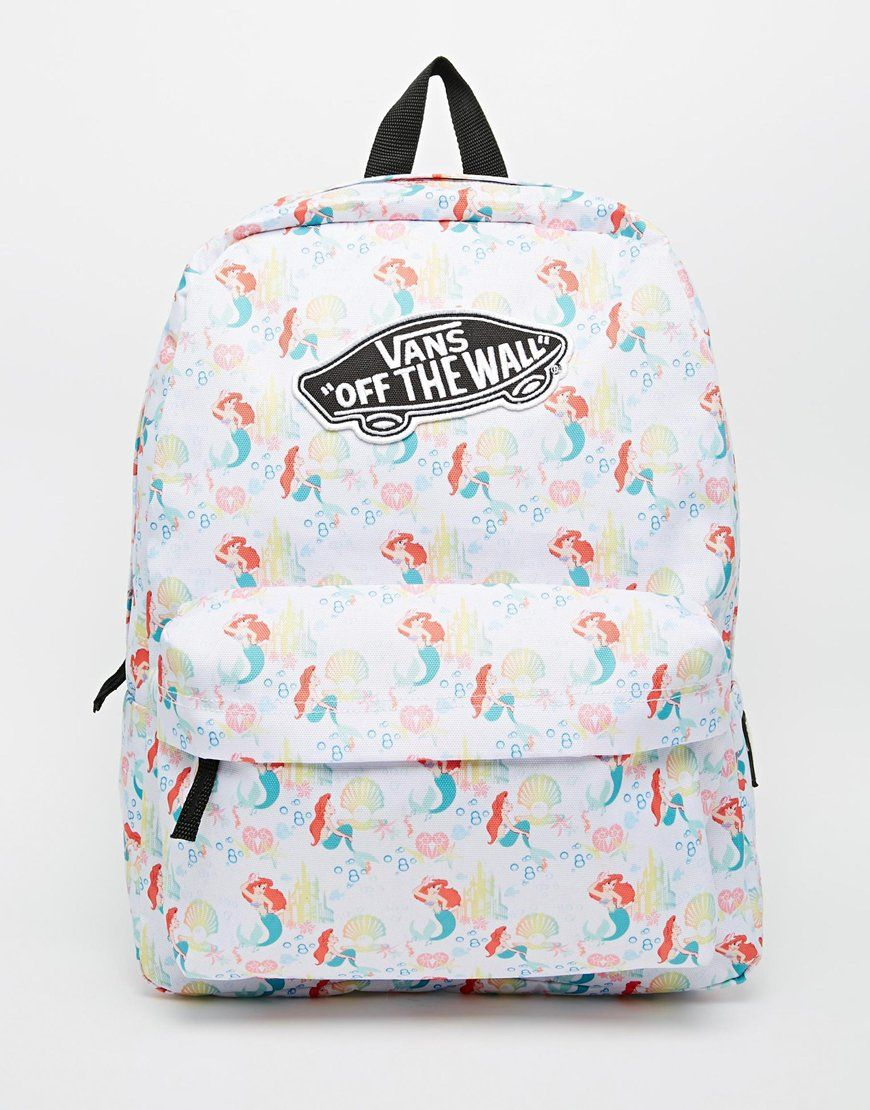 a110ea85f7a Vans x Disney Little Mermaid Backpack