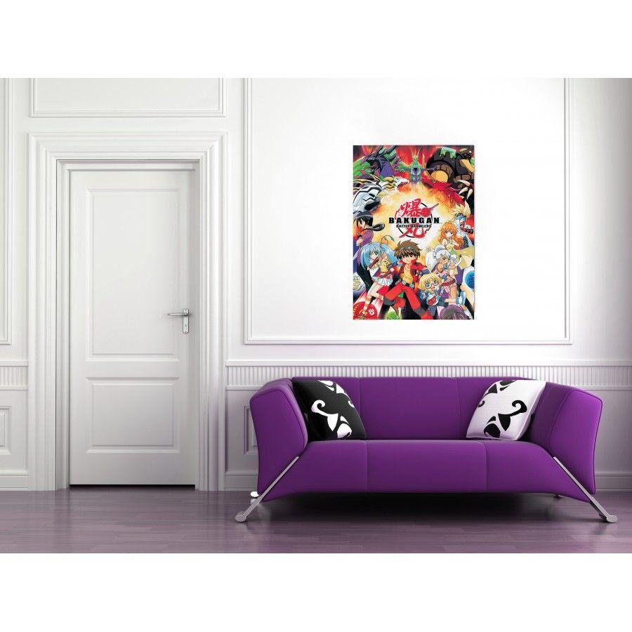 BAKUGAN 68x98 cm #artprints #interior #design #art #print #cartoon  Scopri Descrizione e Prezzo http://www.artopweb.com/categorie/cartoni/EC21891