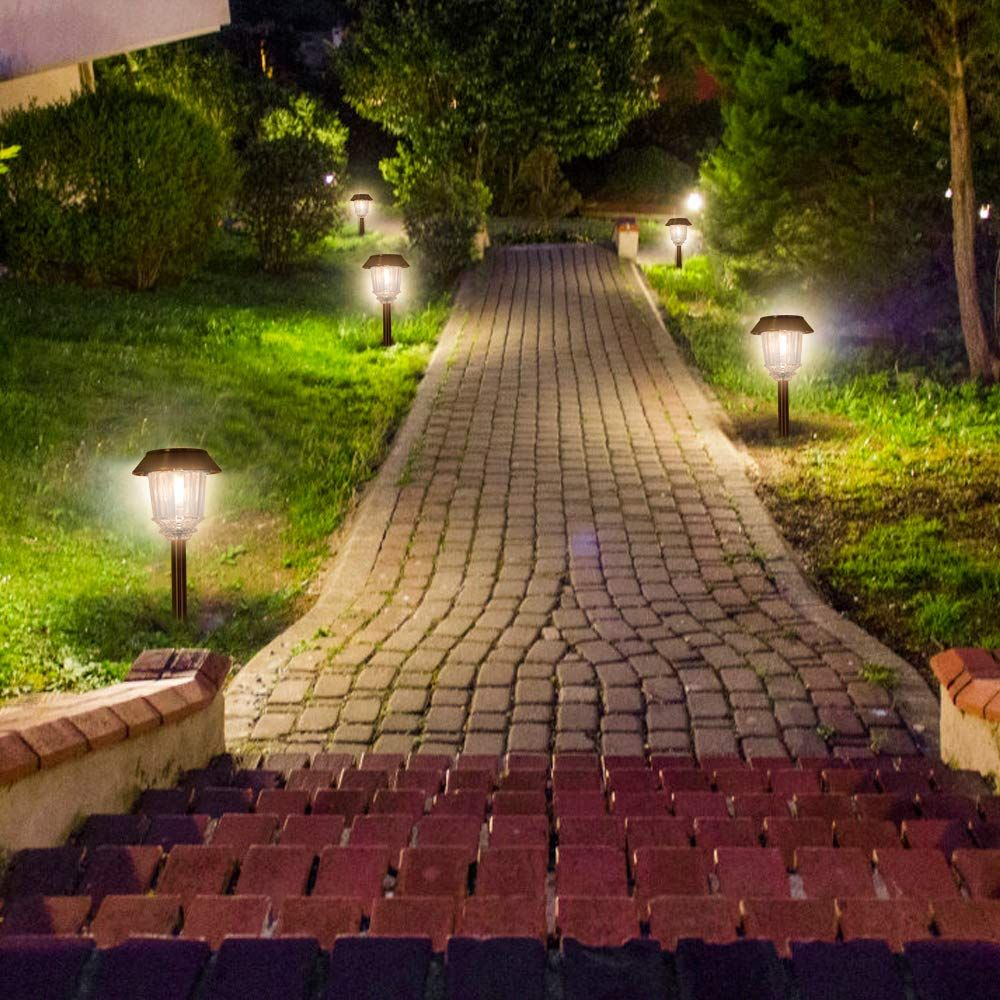 Wonder where the path leads? Outdoor lighting, Solar