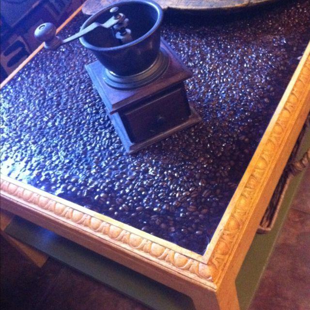 Fantastic I Made This Coffee Bean Coffee Table By Adding A Trim Inzonedesignstudio Interior Chair Design Inzonedesignstudiocom