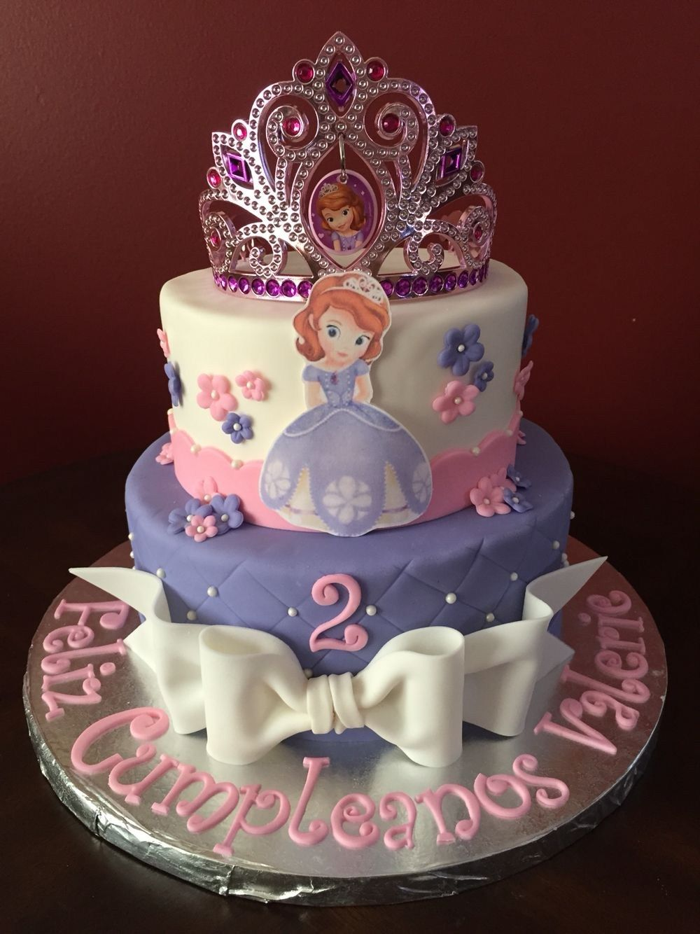 Enjoyable 21 Wonderful Picture Of Princess Sofia Birthday Cake Princess Funny Birthday Cards Online Overcheapnameinfo
