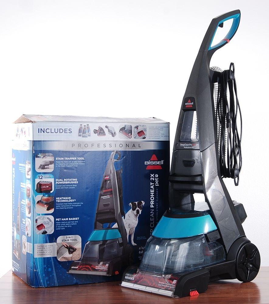 Bissell Carpet Shampooer Deepclean Professional Proheat 2x Pet