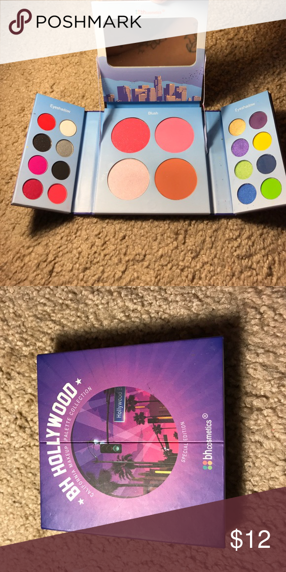 BH Cosmetics Palette Some colors have been slightly used. Has been cleaned and sanitized. Comes with Eyeshadows, Blushes, Bronzer & Highlighter. Makeup Eyeshadow