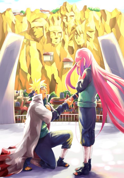 minato and kushina   Minato's proposal. :3 - Kushina & Minato Photo (33938118) - Fanpop ...