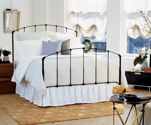 rutherford iron bedframe charles p rogers have kept the paper ad from an elle - Iron Bed Frame