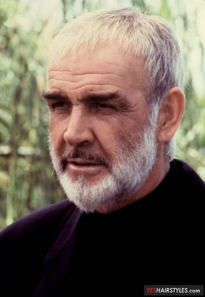 Image result for sean connery caesar cut