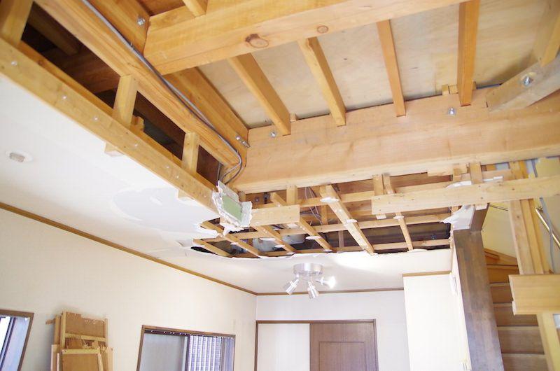 セルフリノベーション Diyで洋室の天井を抜く 99 Diy Diyブログ