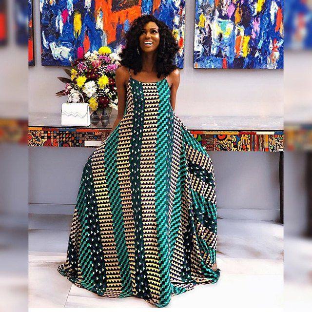 TribeOfAfrik a partagé une nouvelle photo sur Etsy #africanprintdresses