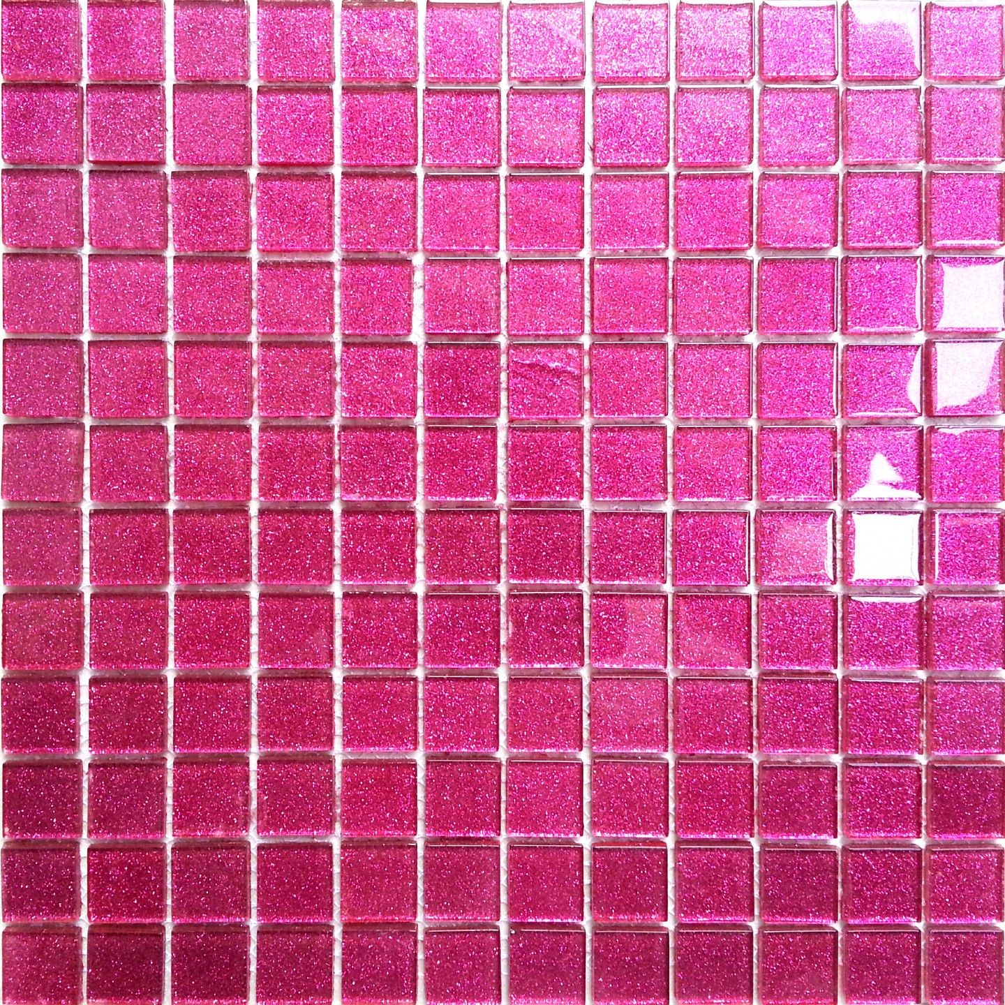 Glitter pink glass mosaic tiles on sale online MT0018 | Everything ...