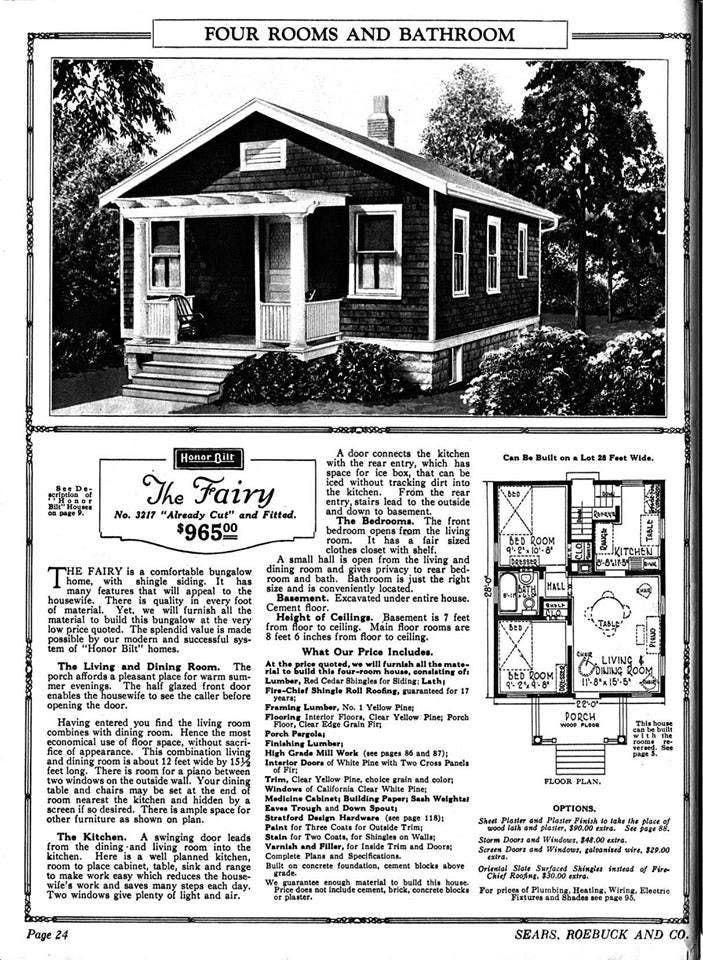 A Peek Inside Jaimie James Fairy Cottage Sears Kit Home Vintage House Plans Kit Homes House