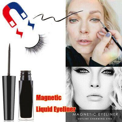 Trocknen Flussig Magnetische Augenbrauen Schwarzes Gel Magnetischer Eyeliner    Liquide de séc