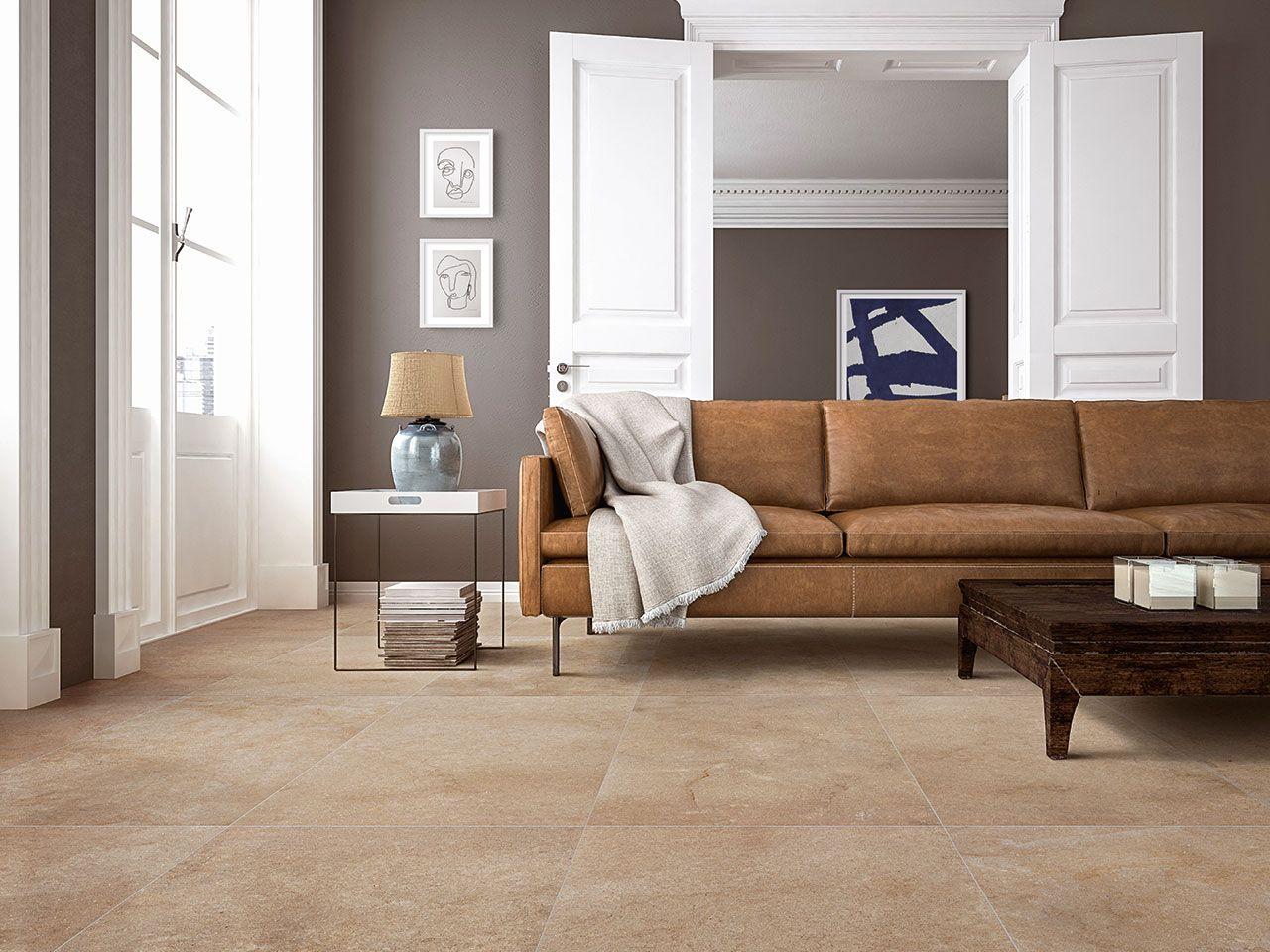 Gres porcellanato effetto pietra di gerusalemme serie sandstone