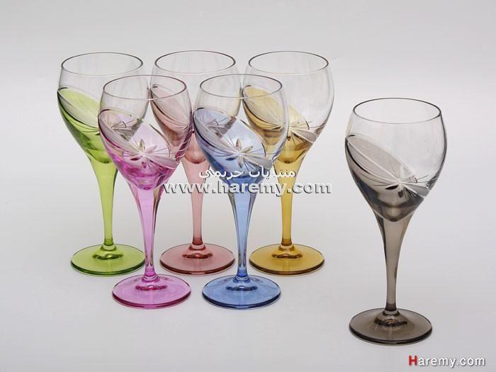 كاسات كرستال كاسات عصير كرستال كاسات عصفور كاسات ضيوف كرستال أدوات للضيوف كاسات Glassware Glass Wine Glass