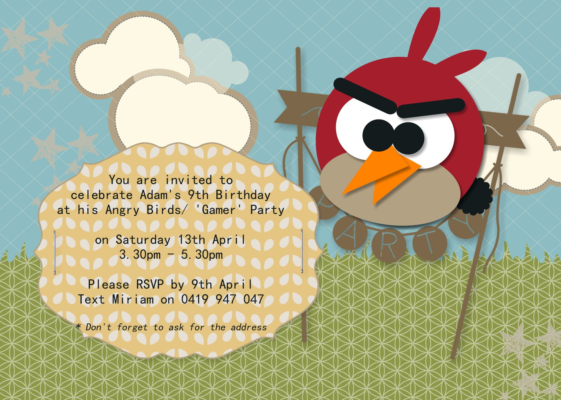 Adam\'s Angry Birds/ Gamer Birthday Party | Party Ideas | Pinterest ...
