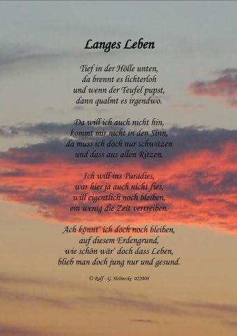 Langes Leben Gedichte Lachen Und Weinen